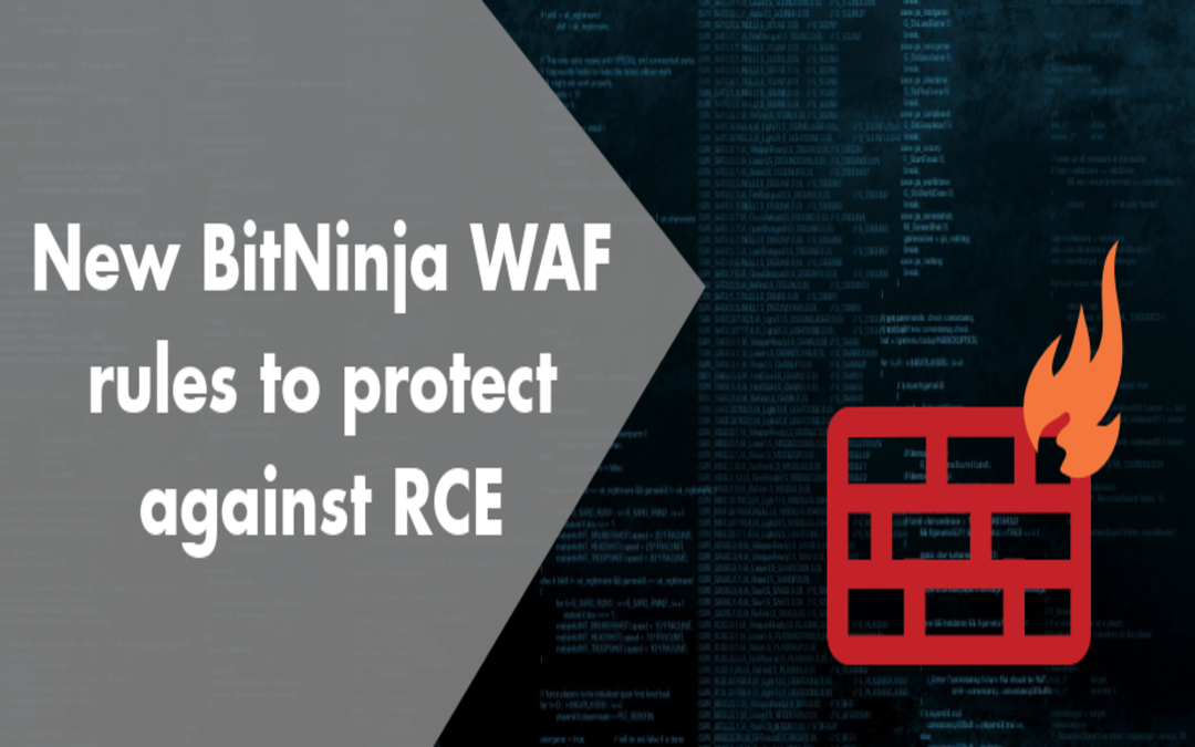 New BitNinja WAF Rules to Protect Against RCE Attacks