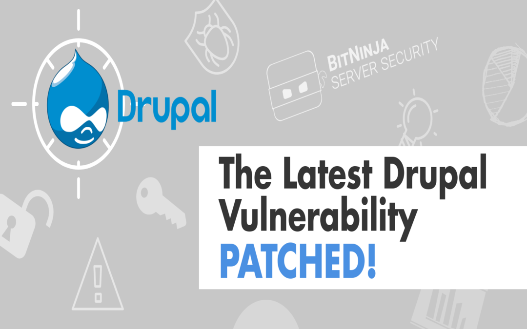 BitNinja WAF protects against the latest Drupal vulnerability (CVE-2019-6340)