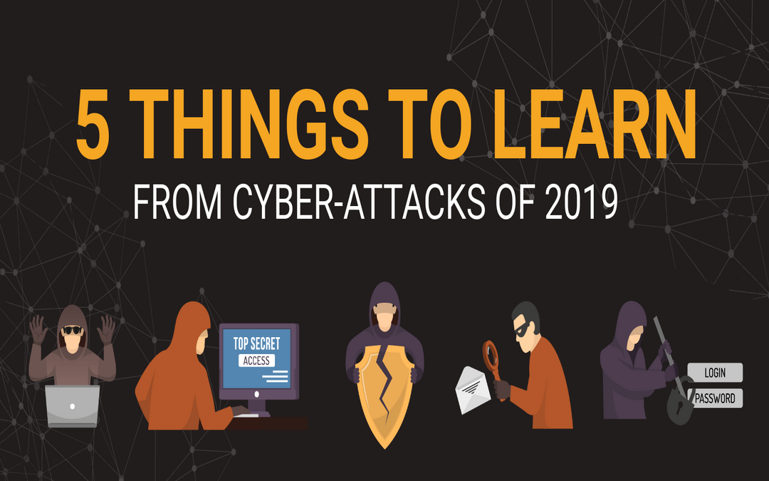 Five key things we can learn from this year's cyber-attacks
