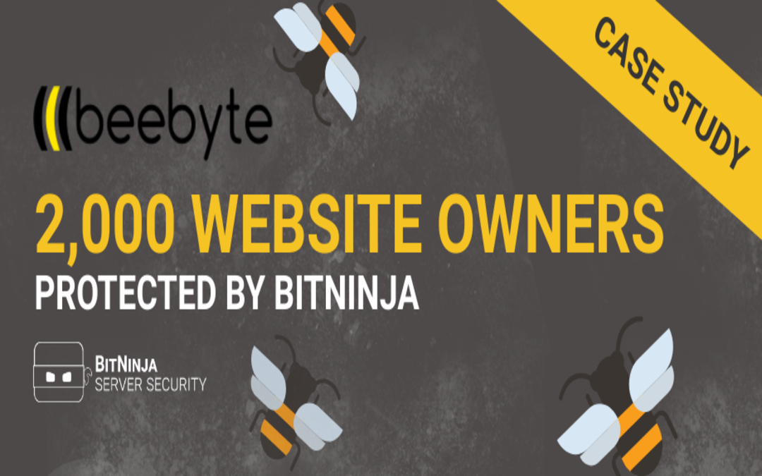Case study – 2000 Website Owners Protected by BitNinja at Beebyte Hosting