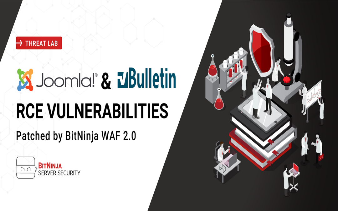 Joomla & vBulletin RCE vulnerabilities patched by BitNinja WAF 2.0