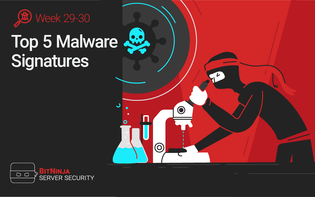 Top 5 Malware Signatures – Week 29-30